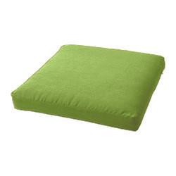 Декоративная подушка на стул модель 1 квадратная Салатовый