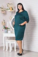 Платье женское больших размеров М306-03, размеры 52,54