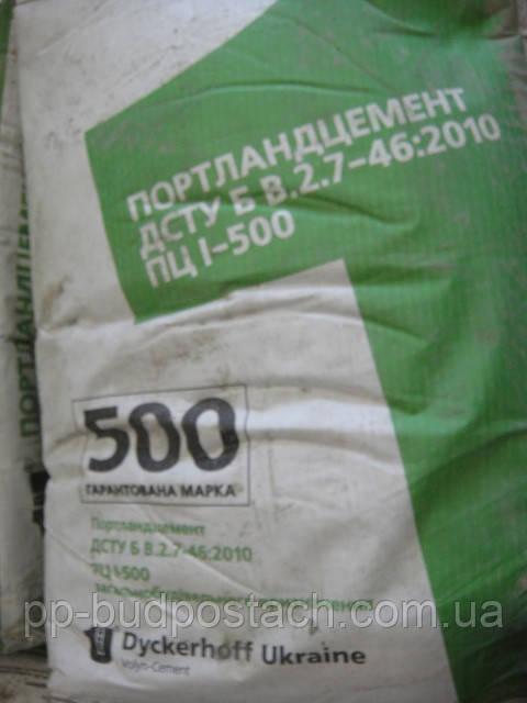 Общие сведения о цементе м500