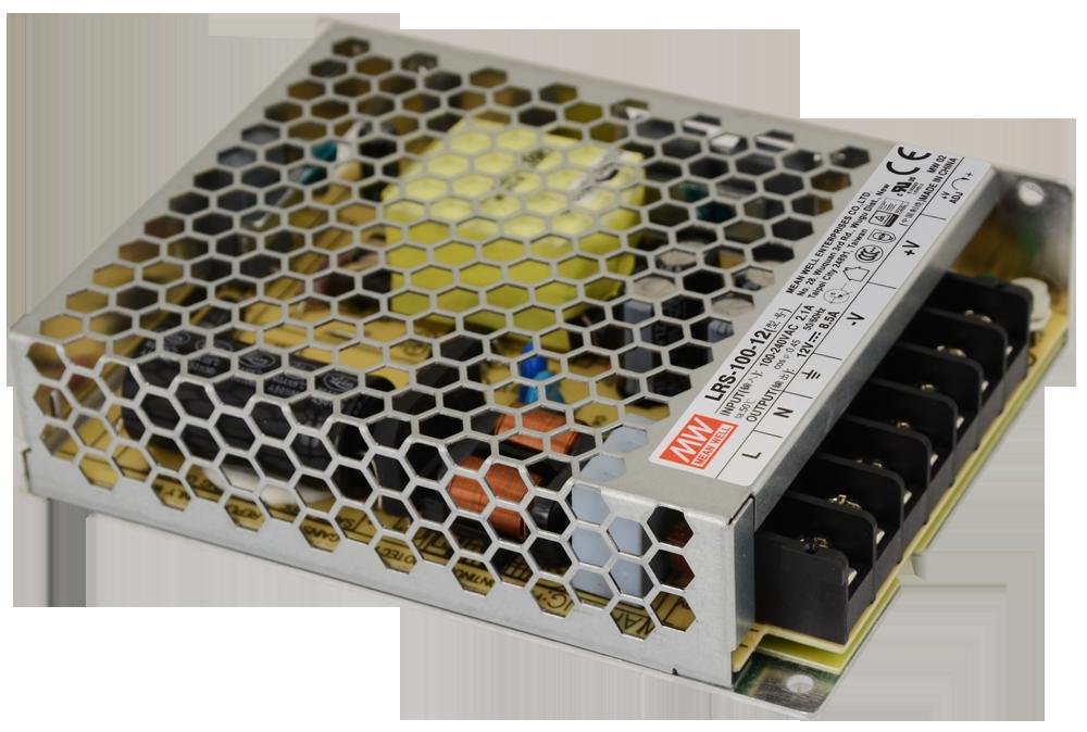 Блок питания Mean Well 100W 12V 8.5А IP20 LRS-100-12