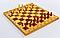 Шахматы, шашки, нарды 3 в 1 деревянные IG-СН-05 (фигуры-дерево, р-р доски 49см x 49см), фото 4