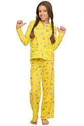 Детская пижама на девочку подростка, в расцветках, р.134-152
