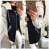 Куртка евро-зима, модель 768/2,  черная 44