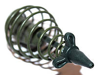 Кормушка пружина Mad Carp 50 г зеленая с тройником