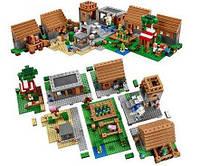 Конструктор QS08 серия My World 44049 The Village / Деревня (аналог Lego Майнкрафт, Minecraft 21128)