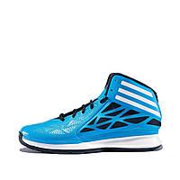 Кроссовки мужские adidas Crazy Fast 2 G98330 (синие, баскетбольные, летние, перфорированные, бренд адидас)