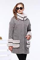Стильное шерстяное пальто oversize