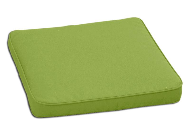 Декоративная подушка на сиденье модель 2 квадратная Салатовый