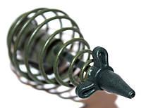 Кормушка пружина Mad Carp 80 г зеленая с тройником
