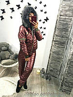 Женский зимний спортивный костюм на синтипоне 0187, фото 1