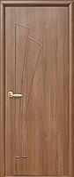 Полотно Лилия ПВХ Deluxe глухое от Новый стиль (венге new, зол.ольха, каштан, орех premium, ясень)