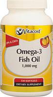 Omega-3 Рыбий жир Лимон -1000 мг -150 капсул