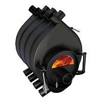 Канадская отопительная печь булерьян Тип-03  (со стеклом) - 600м3