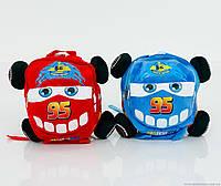 """Рюкзак с игрушкой 2 вида """"Тачки"""", 1 отделение на молнии"""