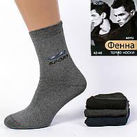 Мужские махровые носки Фенна 201-1. В упаковке 12 пар