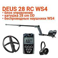 Металлоискатель XP Deus 28 RC WS4