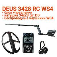 Металлоискатель XP Deus 3428 RC WS4