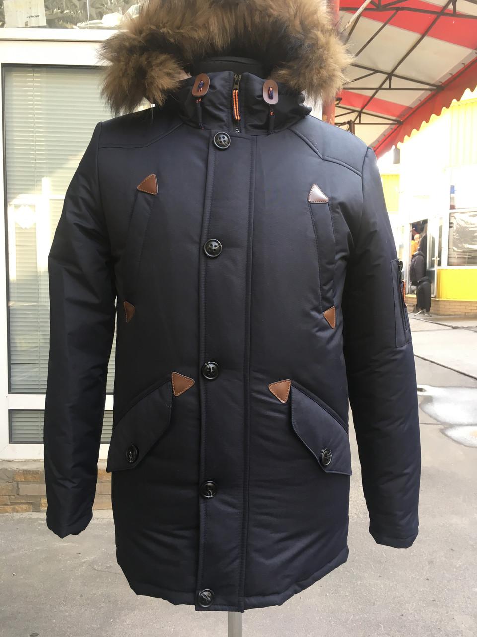 25e5198efd4 Зимняя мужская парка на овчине - CityStile - Интернет-магазин одежды от  производителя в Харькове
