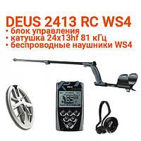 Металлоискатель XP Deus 24x13HF RC WS4