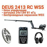 Металлоискатель XP Deus 24x13HF RC WS5