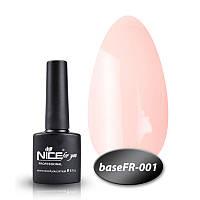 База Nice for you French 8,5 ml - каучук - FR 001, фото 1