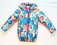 Зимняя детская курточка Babykroha 4-5 лет