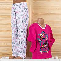 Детская пижама на девочку Турция. Moral 03-1 12/13. Размер на 12/13 лет.