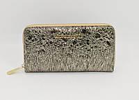 Кошелек кожаный на молнии Michael Kors 175-1141А темное золото, расцветки