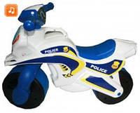 Мотоцикл детский мотобайк музыкальный Police 0139/570
