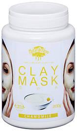 Глиняная маска Очищает и успокаивает кожу, выравнивает тон, с ромашкой