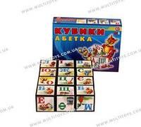 Кубики Абетка+Арифметика Технок /47/(мт)