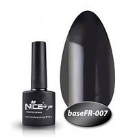 База Nice for you French 8,5 ml - каучук - FR 007 - черный, фото 1