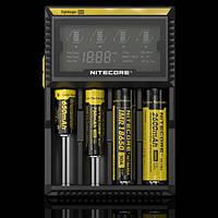 Универсальное цифровое зарядное устройство Nitecore Digicharger D4