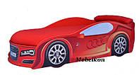 Кровать машина AUDI 155*70 см красная