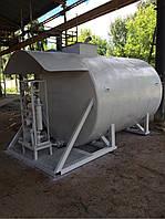 БУ мобильный топливный модуль, цилиндрический резервуар на 10 000 литров (Мини АЗС) после капитально