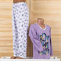 Детская пижама на девочку Турция. Moral 03-2 12/13. Размер на 12/13 лет.