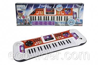 """Музыкальный инструмент """"Синтезатор"""" с разъемом для МР3-плеера, 37 клавиш, 62 см, 6+"""
