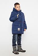 Зимняя куртка парка на мальчика Чарли размеры 146, 152, 158