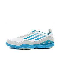 Кроссовки мужские adidas adiZero Trainer M G40578 (белые с синим, синтетический верх, теннисные,