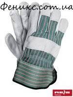 Перчатки защитные усиленные кожей RBCMPAS MCS-10,5