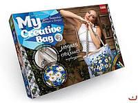 MyCreativeBag Вышив сумки лентами (MCB-01-05) Васильки