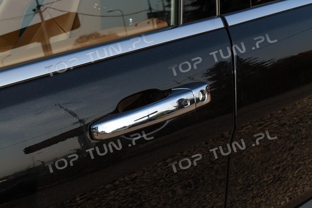 Хром накладки на ручки дверей Jeep Grand Cherokee