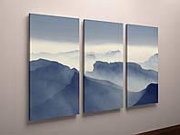 Картина модульная горы