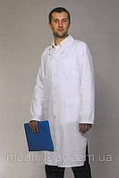 Мужской медицинский халат классического кроя