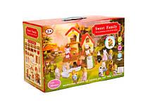 Животные флоксовые 1508  Happy Family, в короб.18*15*4,5см