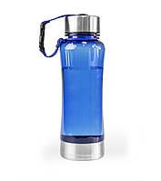 Бутылка для воды 600 мл, усиленное дно, 2 цвета, синяя, код 2224