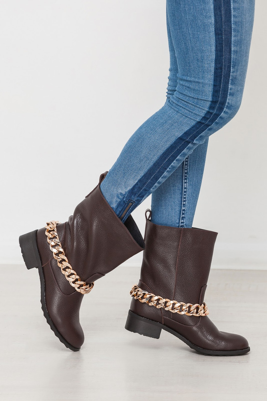 Комфортные женские ботинки полусапоги ТМ Bona Mente (разные цвета)