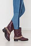 Комфортные женские ботинки полусапоги ТМ Bona Mente (разные цвета), фото 4
