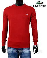 Свитер мужской Lacoste-47 красный