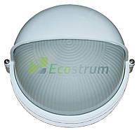 Светильник 60W  круг белый с козырьком